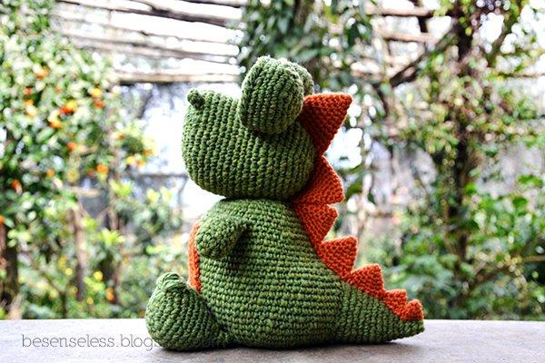 Dexter the Dinosaur - Free Amigurumi Pattern | Crochet dinosaur patterns,  Crochet toys patterns, Crochet patterns amigurumi | 400x600