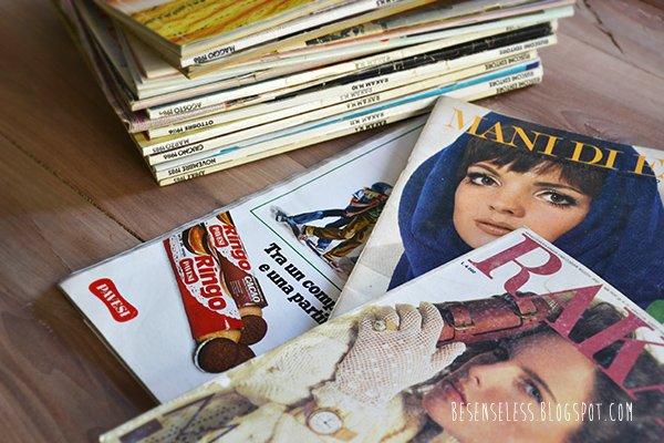 Vintage craft magazine - italia - riviste femminili anni 80