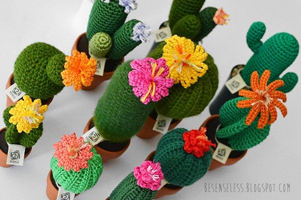 Amigurumi Cactus : Gli ultimi cactus dell estate airali