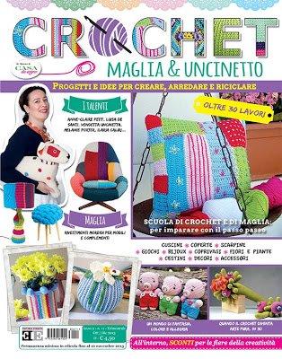 Intervista e bandierine crochet airali for Rivista di case da sogno