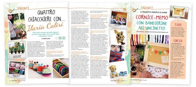 Crochet - gli speciali di casa da sogno - Ilaria Caliri - besenseless.blogspot.com