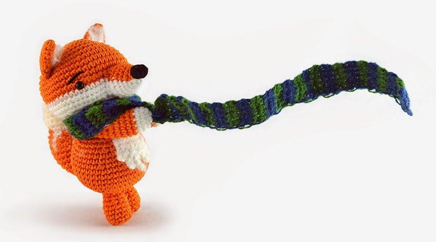 Jean the fox - amigurumi pattern - besenseless by airali