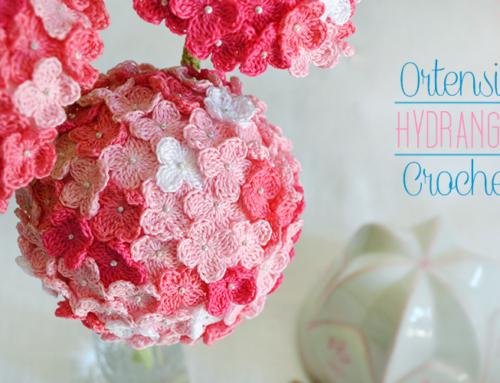 Hydrangea – ortensia – crochet
