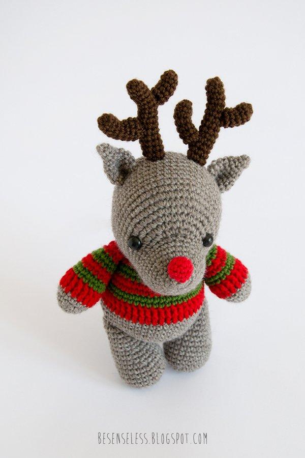 Amigurumi Reindeer Pattern : R&B... reindeer and bear Airali