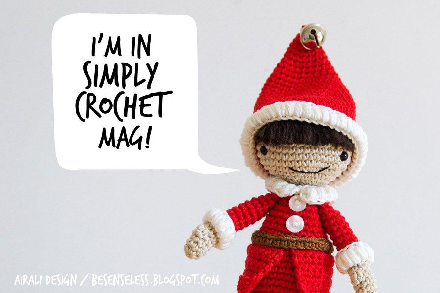 Crochet Christmas Elf - amigurumi pattern