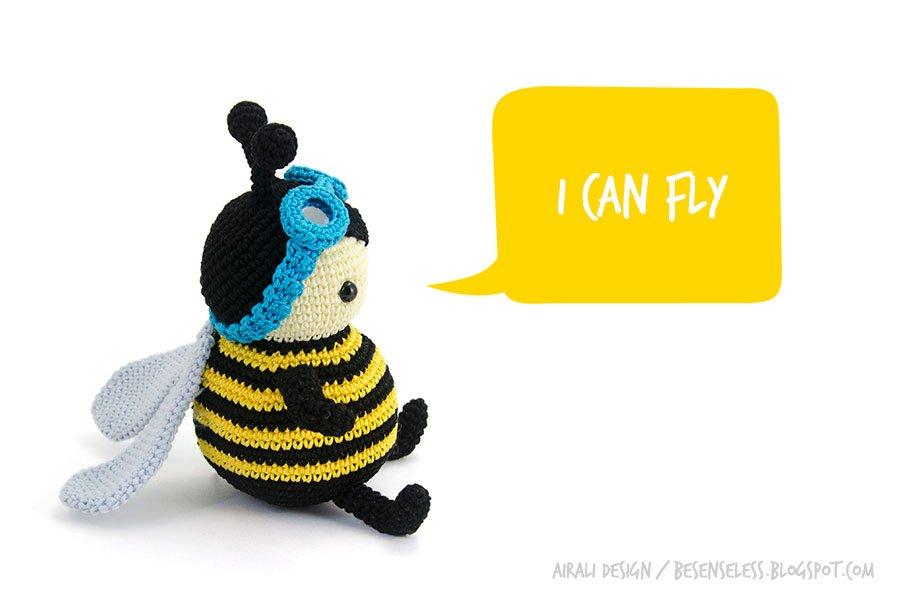 Zeno the bumblebee - new amigurumi characters (included in Zoomigurumi 4) - Nuovo amigurumi a uncinetto: Zeno l'ape