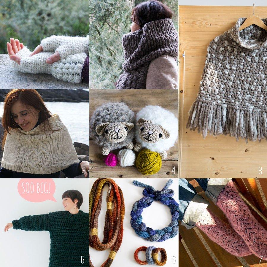 Free crochet and knit patterns - schemi gratuiti maglia e uncinetto