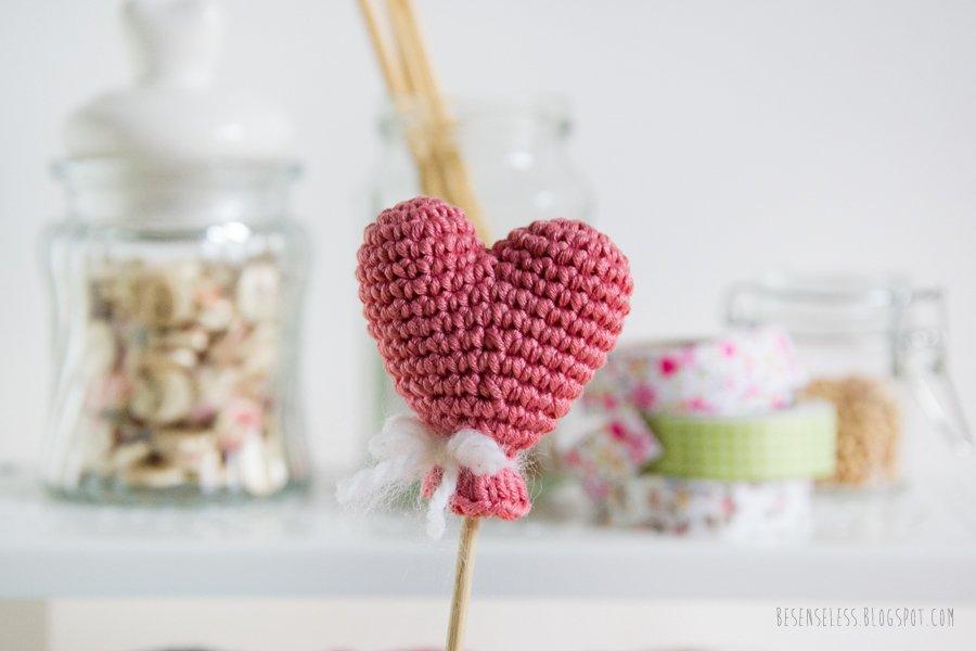 Free crochet heart pattern - cuore amigurumi schema gratuito
