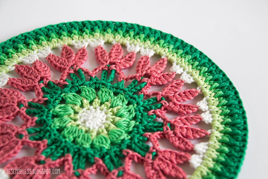 Crochet mandala - Mandala a uncinetto - airali design