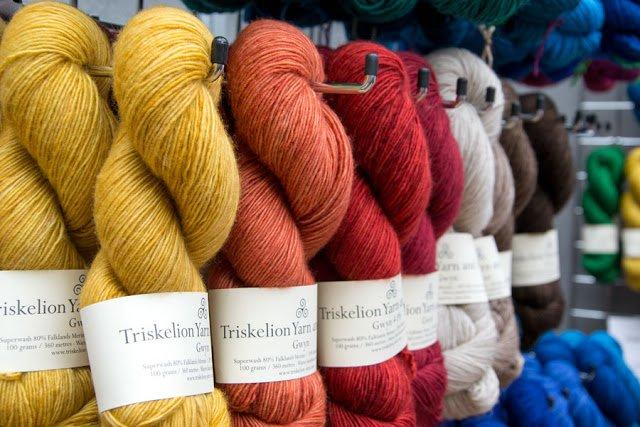 I knit fandango 2015 - London - Yarn fair