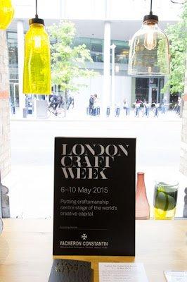 London craft week 2015