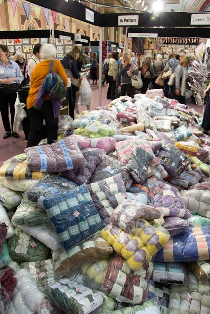 The knitting and stitching show London