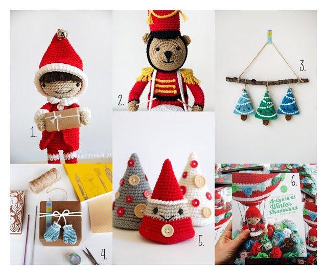 schemi uncinetto amigurumi per natale - crochet amigurumi christmas patterns