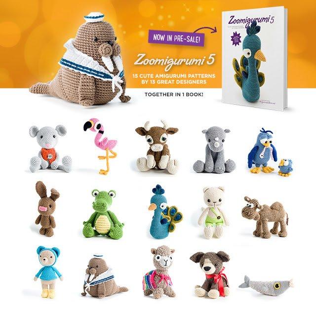 Zoomigurumi 5 - collection of crochet animals, now in presale!
