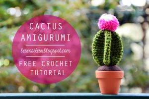 Cactus stella tutorial uncinetto - crochet pattern