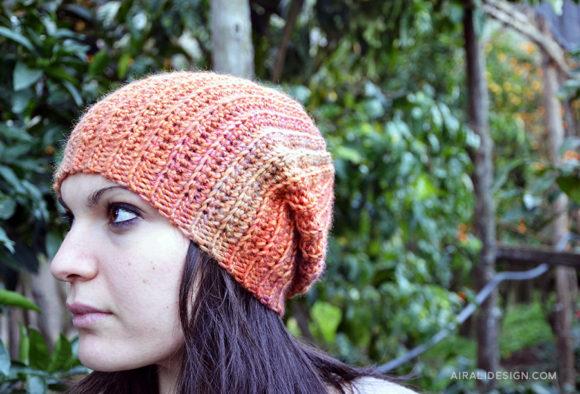 Loira schema gratuito cappello a uncinetto