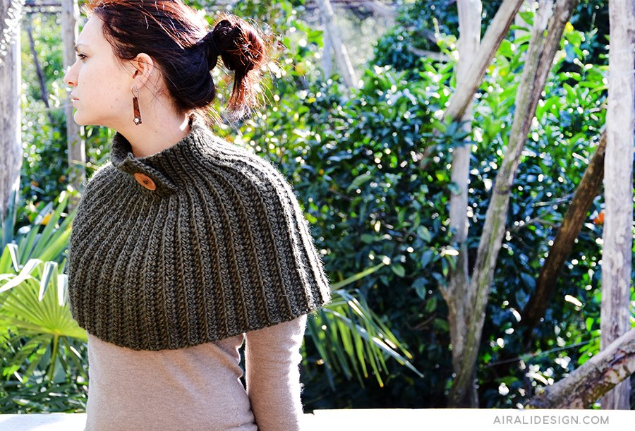 crochet cape - free pattern