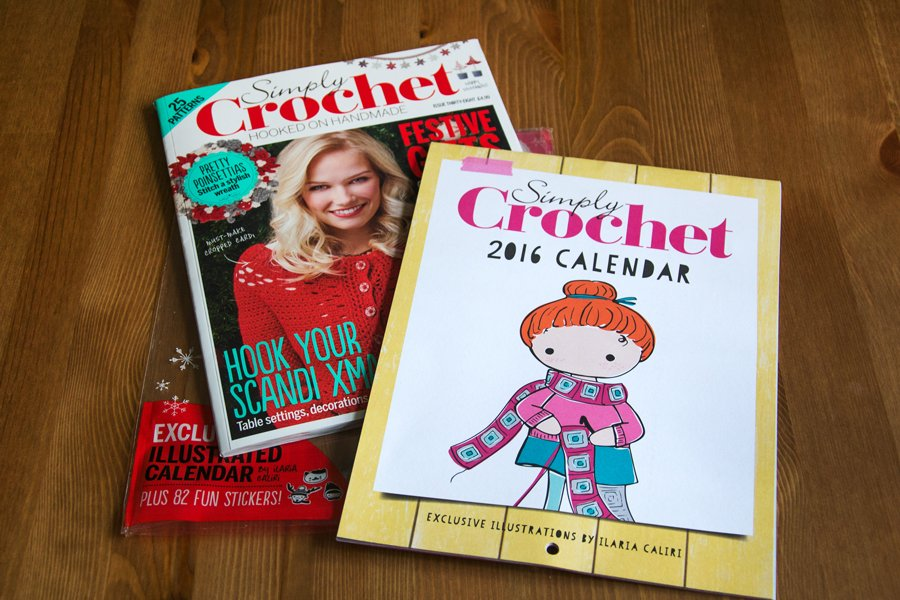 Simply Crochet Calendar 2016