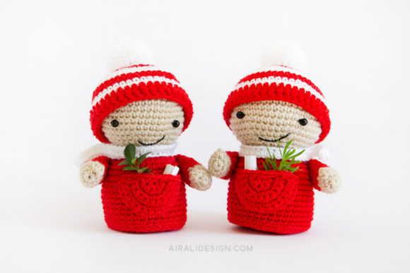 amigurumi christmas elves crochet pattern