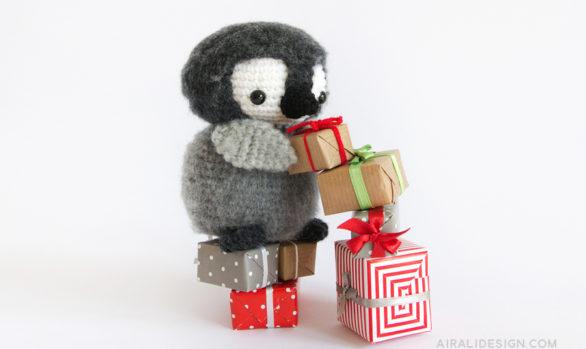 pinguino amigurumi schema uncinetto