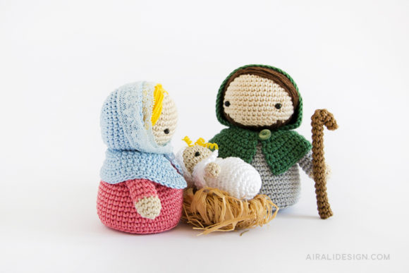 amigurumi nativity scene crochet pattern