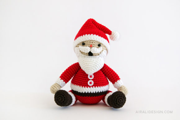 Amigurumi Santa Patterns : Crochet and amigurumi patterns Airali