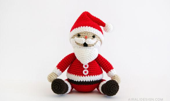 amigurumi santa claus crochet pattern