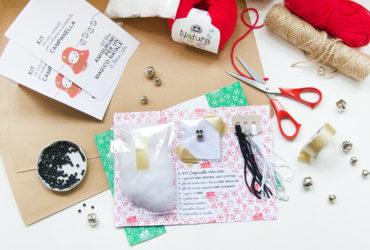 kit uncinetto amigurumi per campanella dal libro amigurumi per un magico natale a napoli creattiva