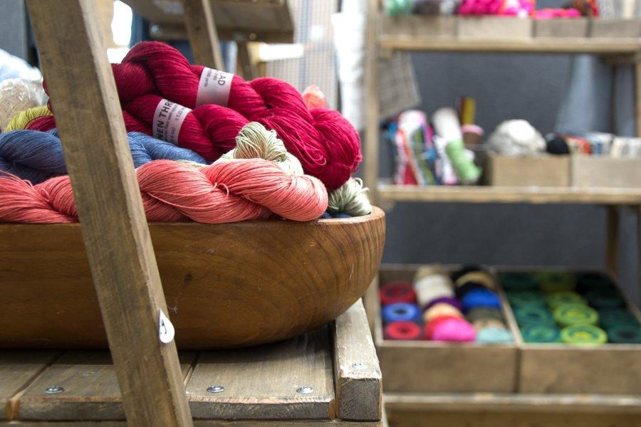 namolio_ at yarnporium 2016 yarn, knitting and crochet fair in london