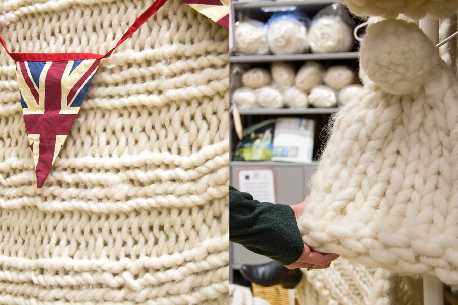 chunky row_ at yarnporium 2016 yarn, knitting and crochet fair in london