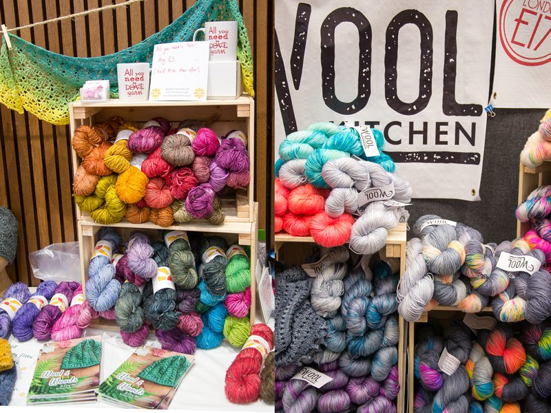 purl alpaca at yarnporium 2016 yarn, knitting and crochet fair in london