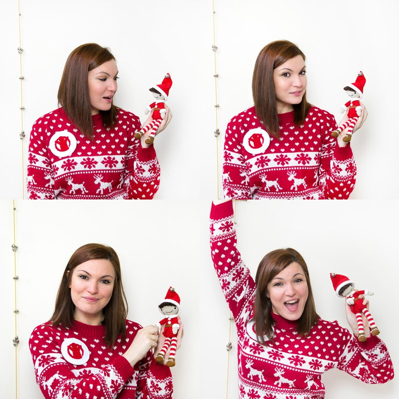 christmas jumper day airali design per save the children