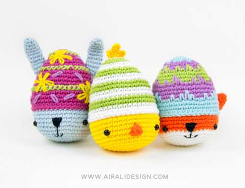 A tasty crochet spring: Easter amigurumi patterns… and a new book!
