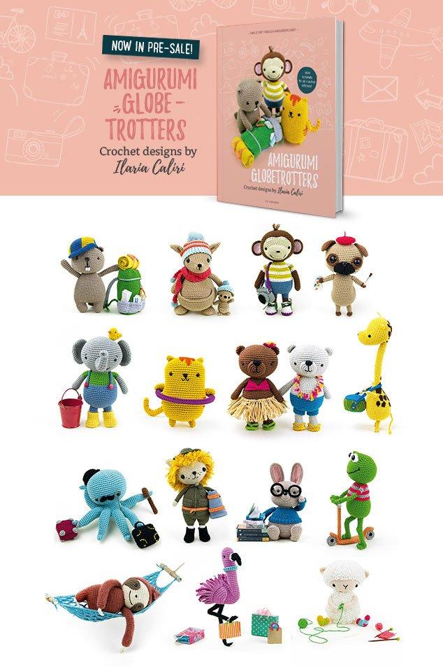 Amigurumi Globetrotters book in pre-sale! - Airali