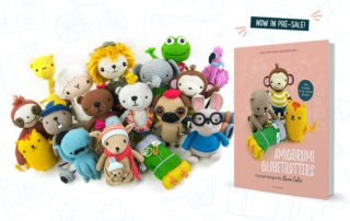 Amigurumi Globetrotters book with crochet patterns by Ilaria Caliri