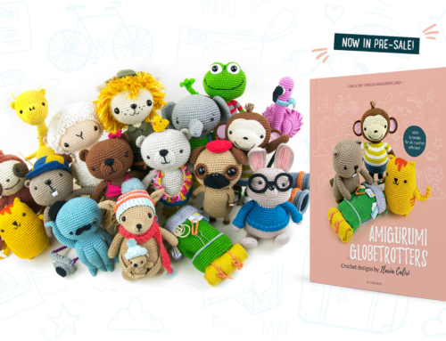 Amigurumi Globetrotters book in pre-sale!