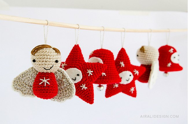 Decorazioni Natalizie - Amigurumi Winter Wonderland