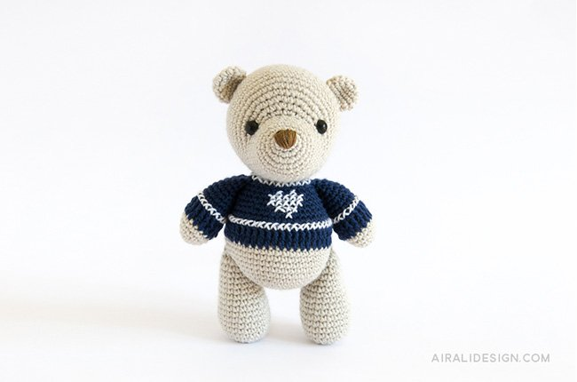 Orsetto - Amigurumi Winter Wonderland