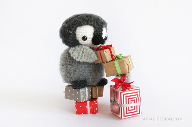 Pinguino imperatore - Amigurumi Winter Wonderland