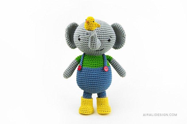 Elefantino - Amigurumi Globetrotters