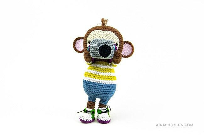 Scimmia - Amigurumi Globetrotters