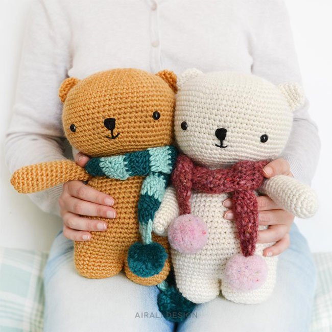 Amigurumi Bears - Crochet Pattern by Airali design