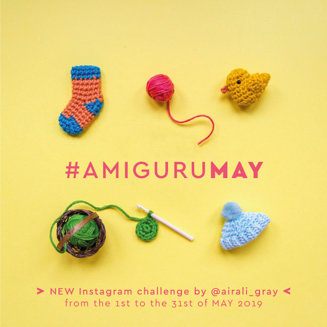 AMIGURUMAY Instagram Challenge - Schemi Amigurumi a Uncinetto by Airali design