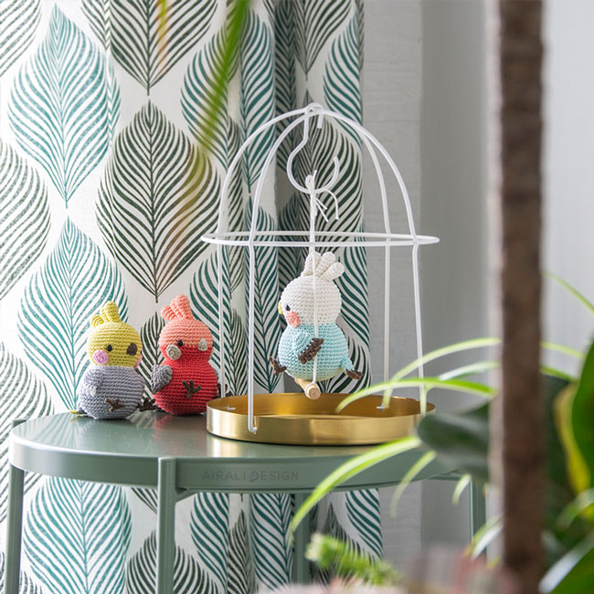 Crochet Cockatiel Parrot Amigurumi toy - YouTube | 650x650