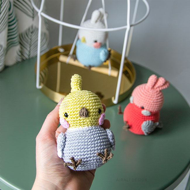 Crochet bird amigurumi pattern | Hæklemønstre, Hækling ... | 650x650