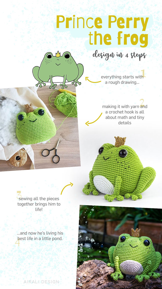 Amigurumi designs, themes, templates and downloadable graphic elements on  Dribbble | 1156x650