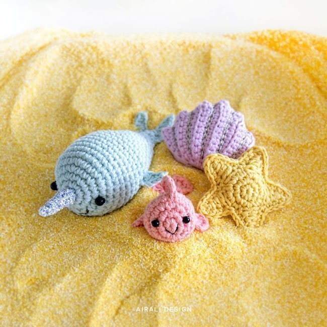Amigurumi Sea Friends - Crochet Pattern by Airali design