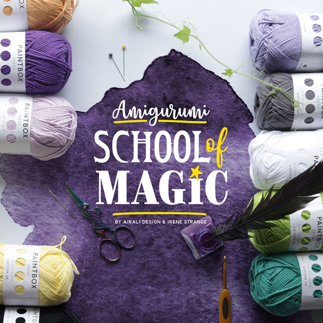 School of Magic - Amigurumi Crochet Patterns by Airali design