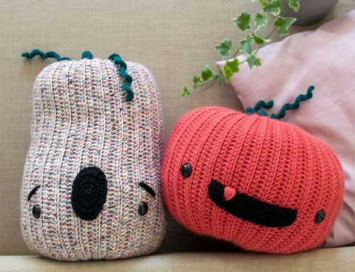 Crochet Pop Pumpkins