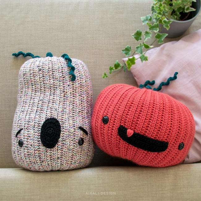 Amigurumi Pop Pumpkins - Crochet Pattern by Airali design